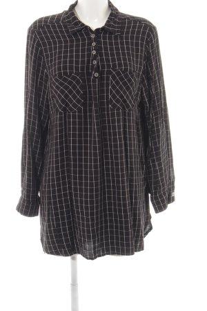 Liberty Long-Bluse schwarz Streifenmuster Casual-Look