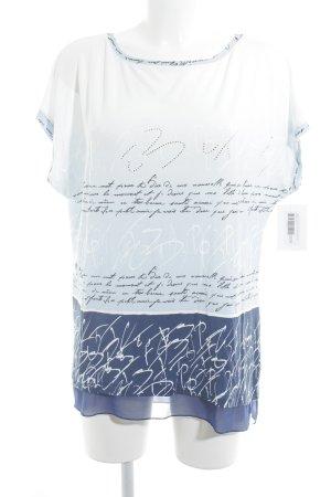 Liberty Print-Shirt Schriftzug gedruckt Casual-Look