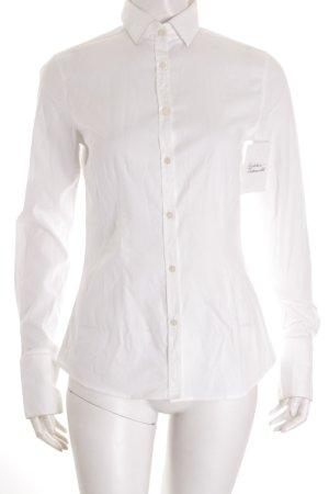 Liberty Rose Hemd-Bluse weiß klassischer Stil