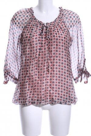 Liberty Slip-over blouse abstract patroon casual uitstraling