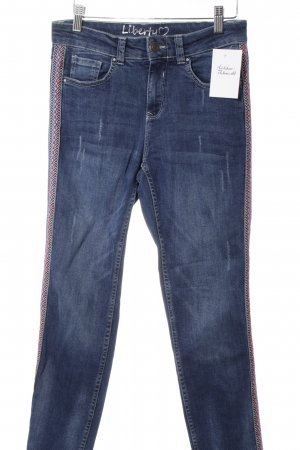 Liberty Straight-Leg Jeans stahlblau Casual-Look