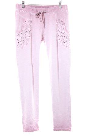 Liberty Pantalón deportivo malva-rosa empolvado estilo deportivo