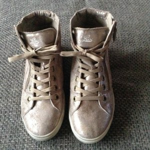 "Lico Sneaker high in Silver "" NEU "" Gr. 40"