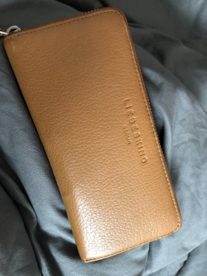 Liebeskind Berlin Wallet brown-camel leather