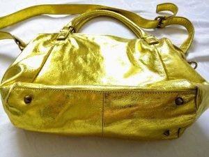 Liebeskind Amanda Gold metallic 229€ Ledertasche Neu