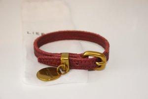 Liebeskind Berlin Lederen armband bordeaux Leer