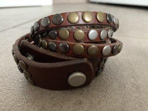 Liebeskind Armband Leder mit Nieten