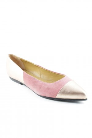 Liebeskind Ballerinas mit Spitze rosa-roségoldfarben Street-Fashion-Look