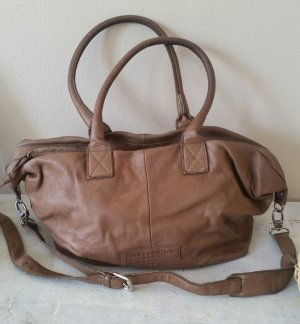 Liebeskind Berlin Frame Bag light brown leather