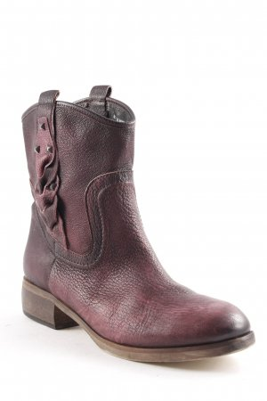 Liebeskind Berlin Low boot rouge mûre gradient de couleur style seconde main
