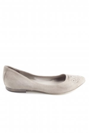 Liebeskind Berlin Ballerinas with Toecap natural white casual look