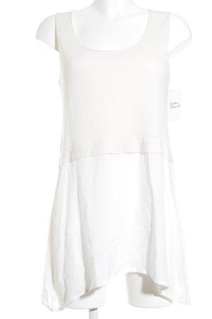 Liebeskind Berlin Camisa de mujer blanco-crema elegante