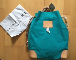 Liebeskind Berlin Canvas Bag turquoise