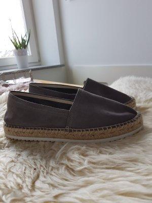 Liebeskind Berlin Espadrille sandalen grijs