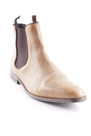 Liebeskind Berlin Chelsea Boots sandbraun-dunkelbraun Dandy-Look