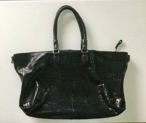 Liebeskind Berlin Gekruiste tas zwart-zilver