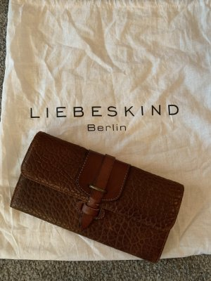 Liebeskind Berlin Borsa clutch cognac-marrone