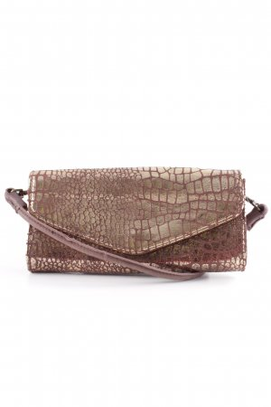 Liebeskind Berlin Clutch bronze-colored-gold-colored animal pattern party style
