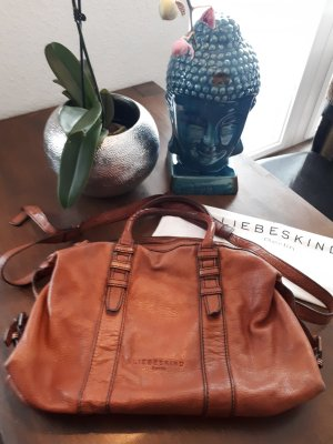 Liebeskind Berlin Carry Bag cognac-coloured leather