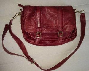 LIEBESKIND Berlin Designer Handtasche wie NEU rot echt Leder