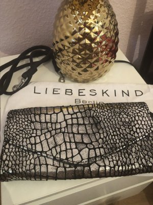 Liebeskind Berlin Doro Metallic croco silver