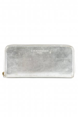 Liebeskind Berlin Wallet silver-colored-grey distressed style