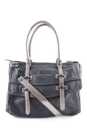 Liebeskind Berlin Handtasche schwarz-roségoldfarben Business-Look