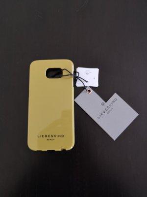 Liebeskind Berlin Handy Hülle/Bumper Gold neu für Samsung
