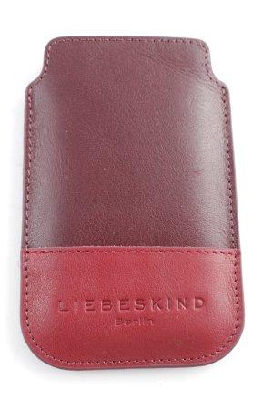 Liebeskind Berlin Carcasa para teléfono móvil burdeos-rojo oscuro