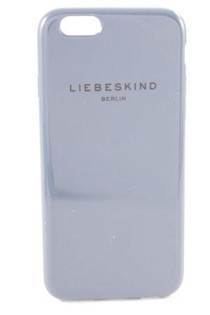 Liebeskind Berlin Hoesje voor mobiele telefoons grijs-paars casual uitstraling