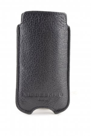 Liebeskind Berlin Mobile Phone Case black animal pattern embossed logo