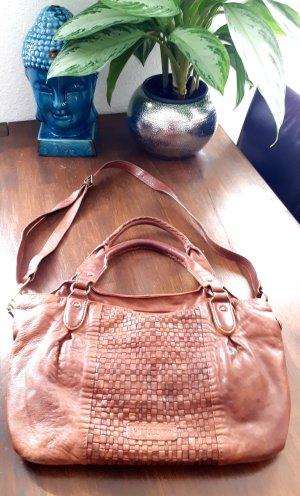 Liebeskind Berlin Carry Bag cognac-coloured leather
