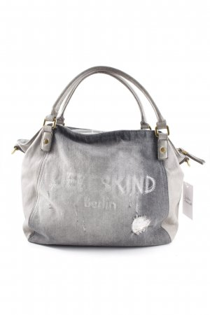 Liebeskind Berlin Carry Bag grey brown-light grey embroidered lettering