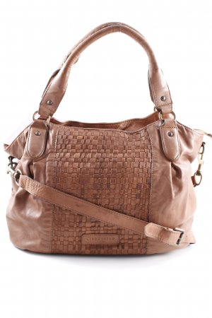 Liebeskind Berlin Carry Bag weave pattern casual look
