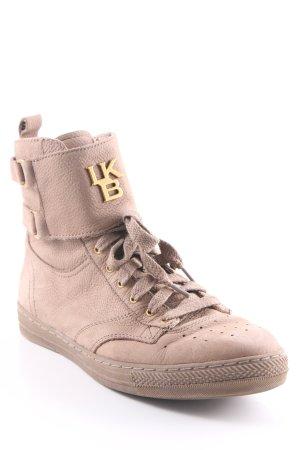 Liebeskind Berlin High Top Sneaker beige-camel Boyfriend-Look
