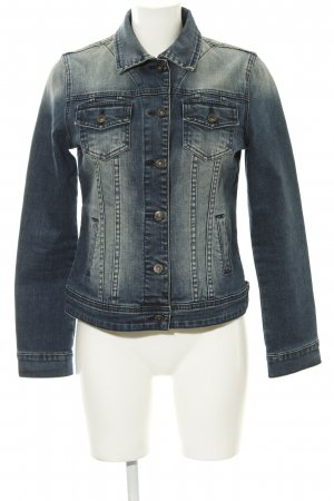 Liebeskind Berlin Jeansjacke dunkelblau Washed-Optik