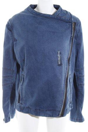 Liebeskind Berlin Jeansjacke stahlblau Jeans-Optik
