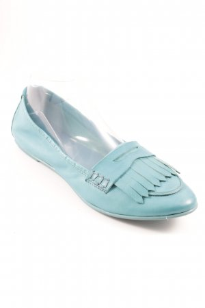 Liebeskind Berlin Patent Leather Ballerinas turquoise casual look