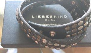 Liebeskind Berlin Bracelet en cuir multicolore cuir