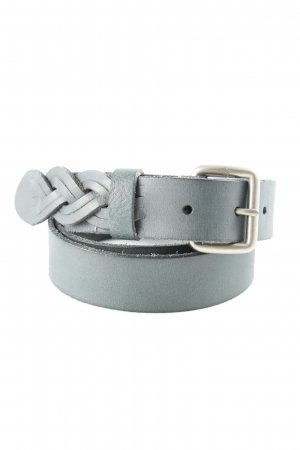 Liebeskind Berlin Leather Belt pale blue