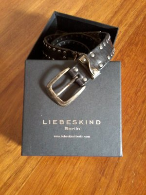 Liebeskind Berlin Leather Belt black