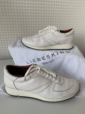 Liebeskind Berlin Lace-Up Sneaker white leather
