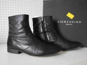 Liebeskind Berlin * LK2019 * Nappa Leder Boots / Stiefeletten * schwarz