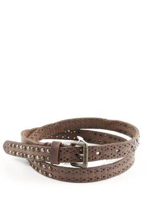Liebeskind Berlin Studded Belt bronze-colored casual look