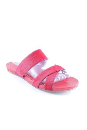 Liebeskind Berlin Sandalo con cinturino rosso stile casual