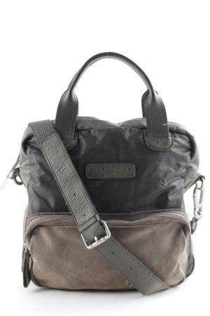 Liebeskind Berlin Shoulder Bag dark brown-green grey casual look
