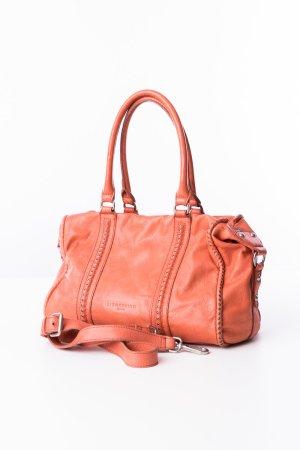 Liebeskind Berlin Shoulder Bag orange leather