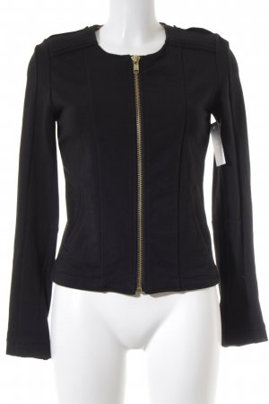 Liebeskind Berlin Shirt Jacket black-gold-colored biker look