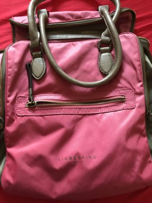 Liebeskind Berlin Shopper khaki-raspberry-red