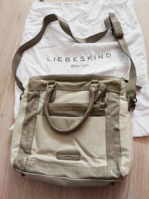 Liebeskind Berlin Shopper grey brown-oatmeal leather